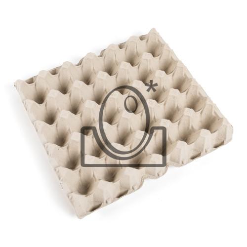 120 Bandejas de cartón 30x30 cm